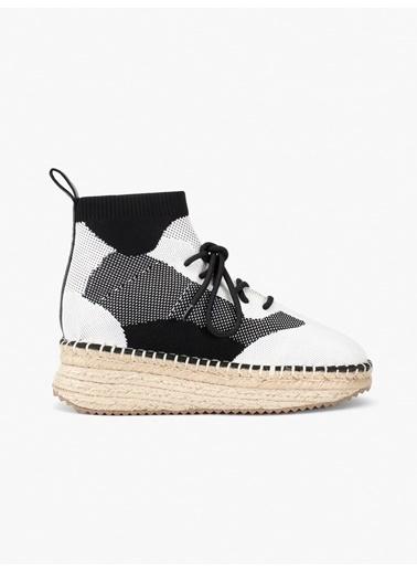 Twist Beyaz Düz Ayakkabı Beyaz